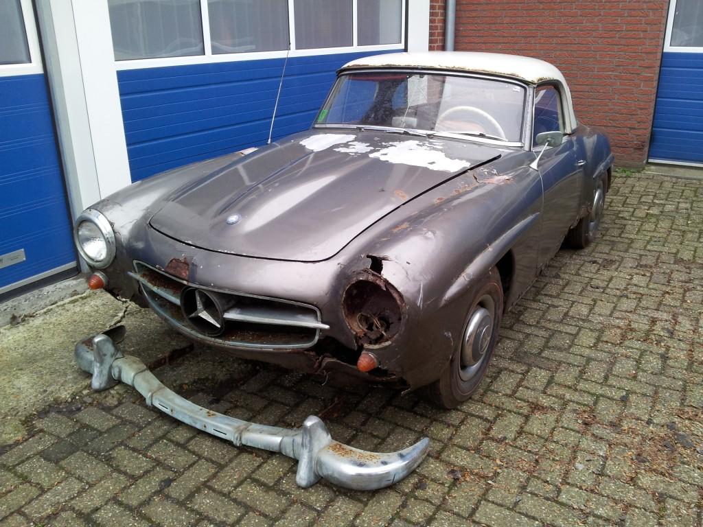 Te koop Mercedes 190 SL