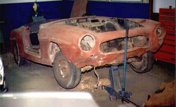 Van Dijk - Mercedes Classic SL - Plaatwerkerij 1