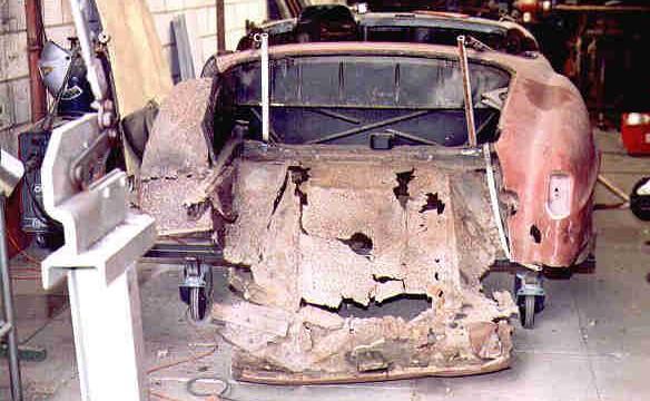Van Dijk - Mercedes Classic SL - Plaatwerkerij 2