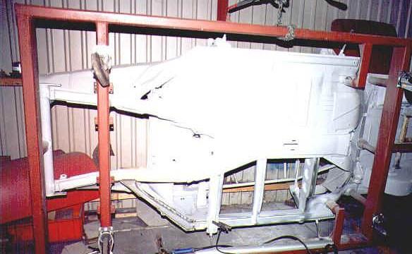 Van Dijk - Mercedes Classic SL - Plaatwerkerij 5