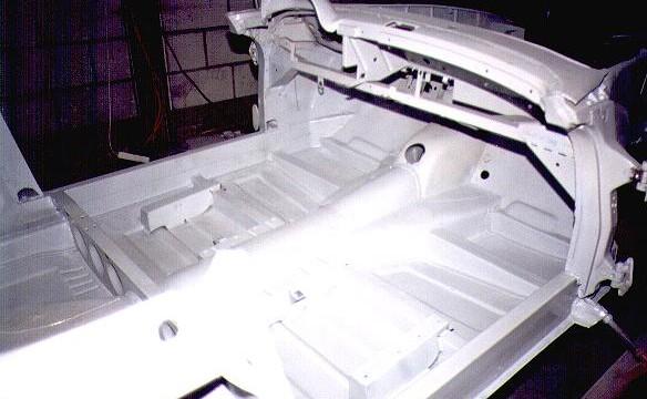 Van Dijk - Mercedes Classic SL - Plaatwerkerij 6