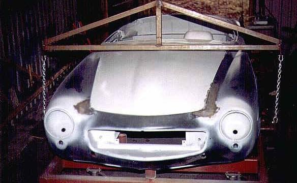 Van Dijk - Mercedes Classic SL - Plaatwerkerij 10