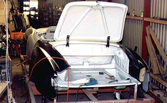 Van Dijk - Mercedes Classic SL - Plaatwerkerij 11