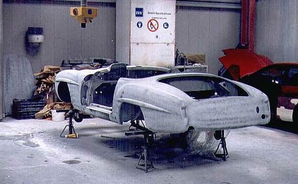 Van Dijk - Mercedes Classic SL - Plaatwerkerij 12