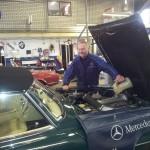 Van Dijk - Mercedes Classic SL - Reparatie en Onderhoud13